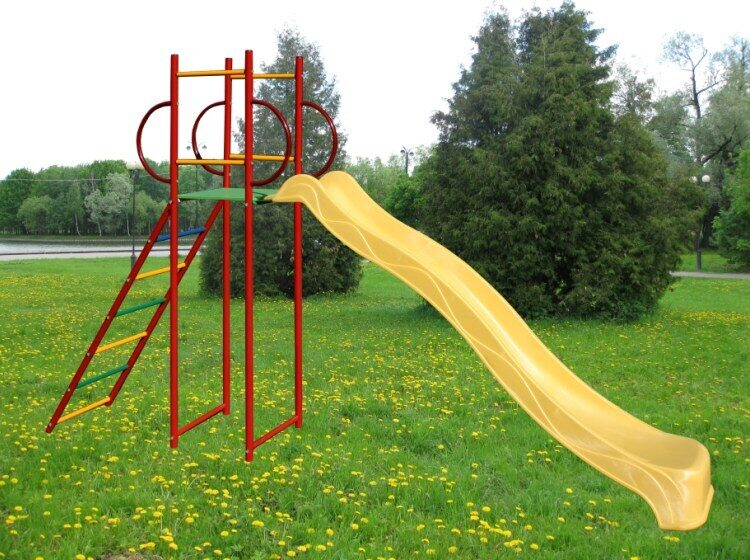 Горка большая Вертикаль скат 3,0 м