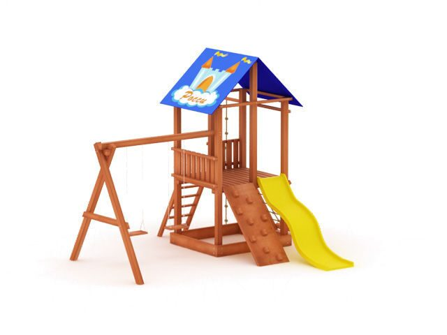 Детская игровая из дерева
