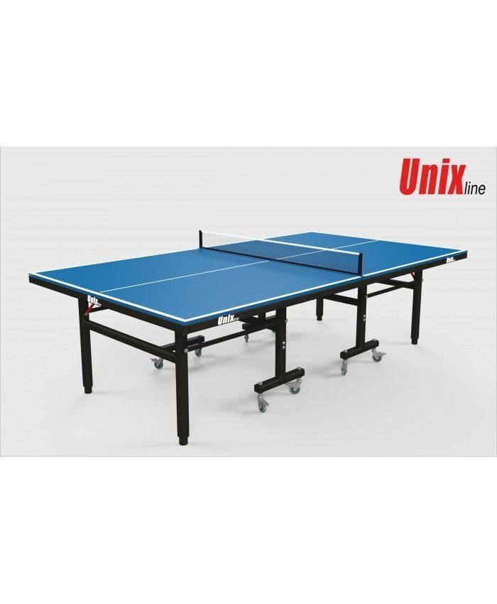 Всепогодный теннисный стол UnixLine (blue)