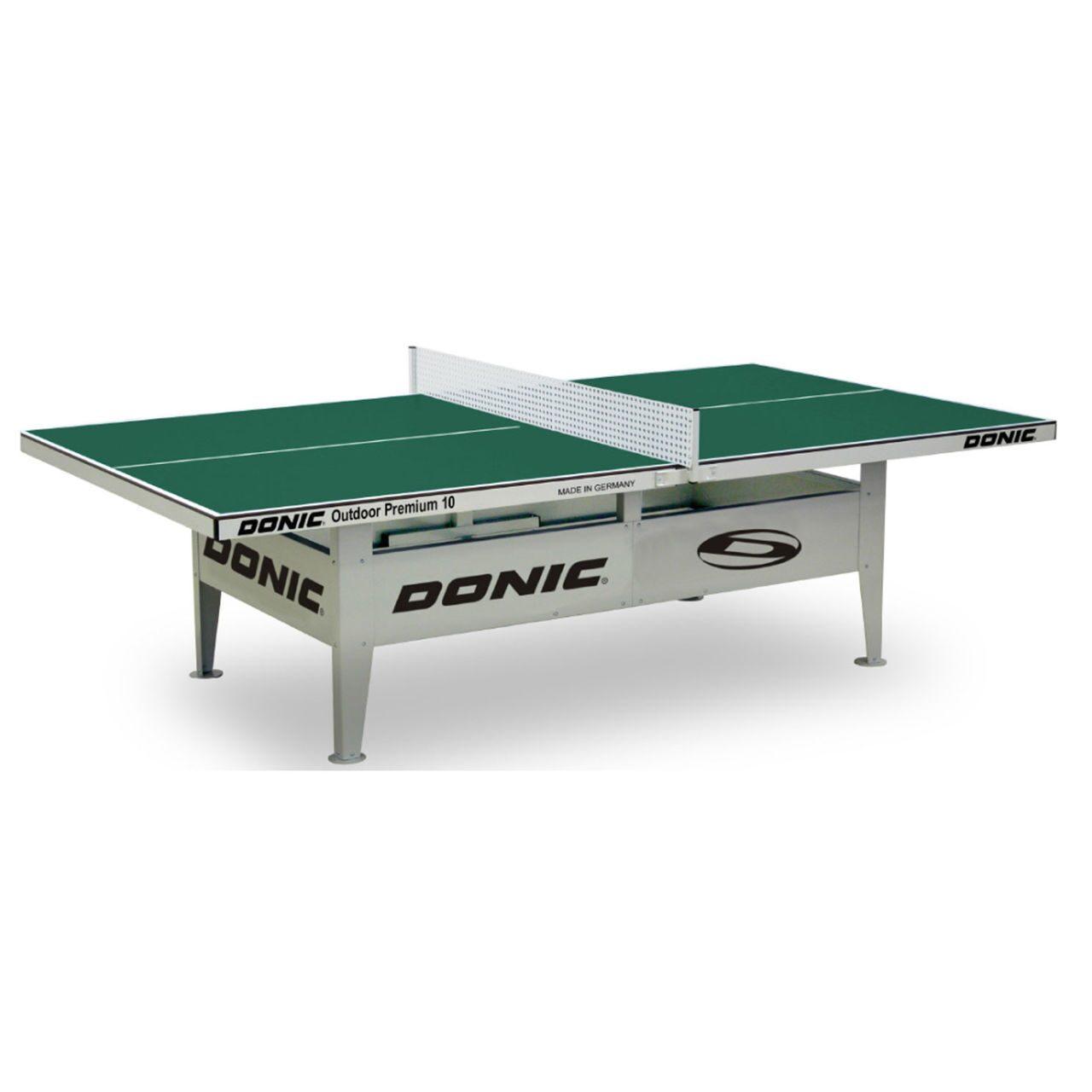 Всепогодный Теннисный стол Donic Outdoor Premium 10 зеленый 230236-G