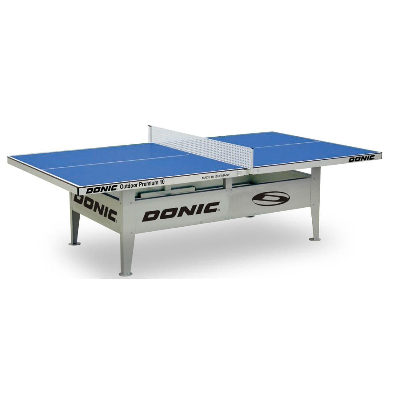 Всепогодный теннисный стол Donic Outdoor Premium 10 синий 230236-B