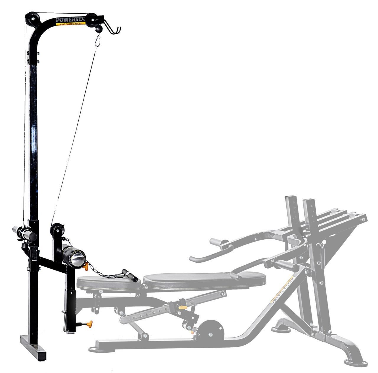Lat стойка аксессуар Powertec Workbench WB-LTA13