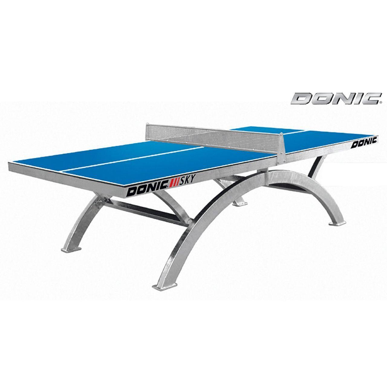 Антивандальный теннисный стол Donic SKY синий 230265