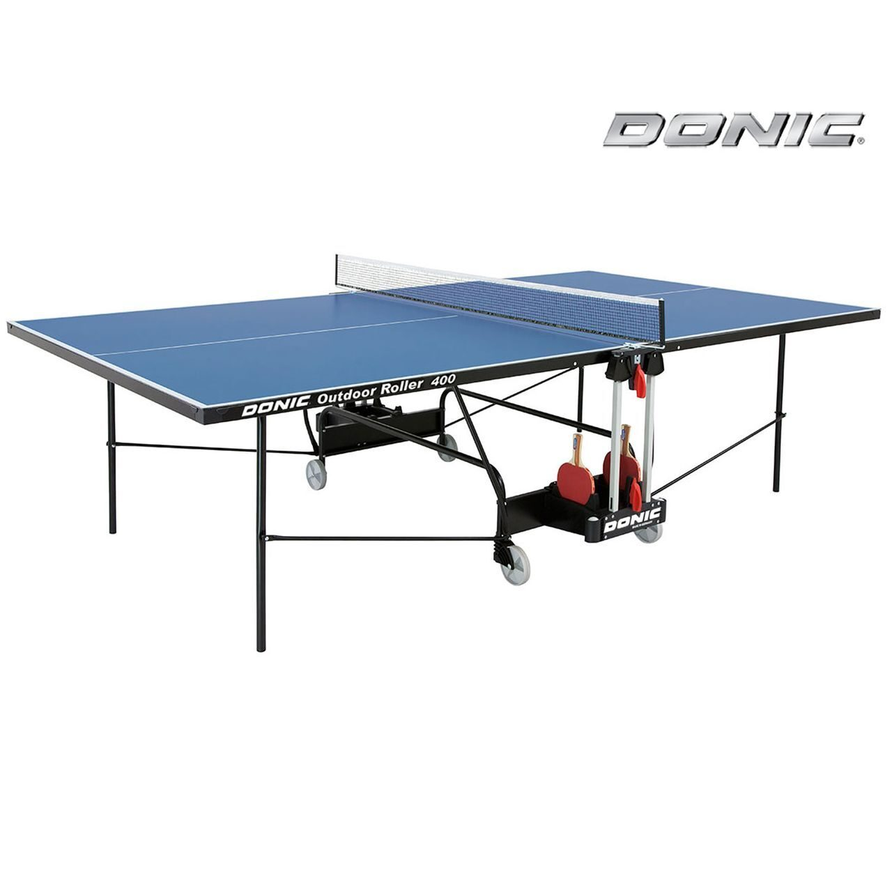 Всепогодный теннисный стол Donic Outdoor Roller 400 синий 230294-B