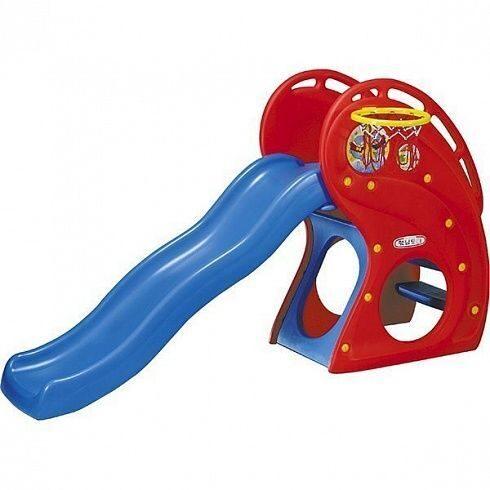 Горка Дельфин с баскетбольным кольцом HNP-716