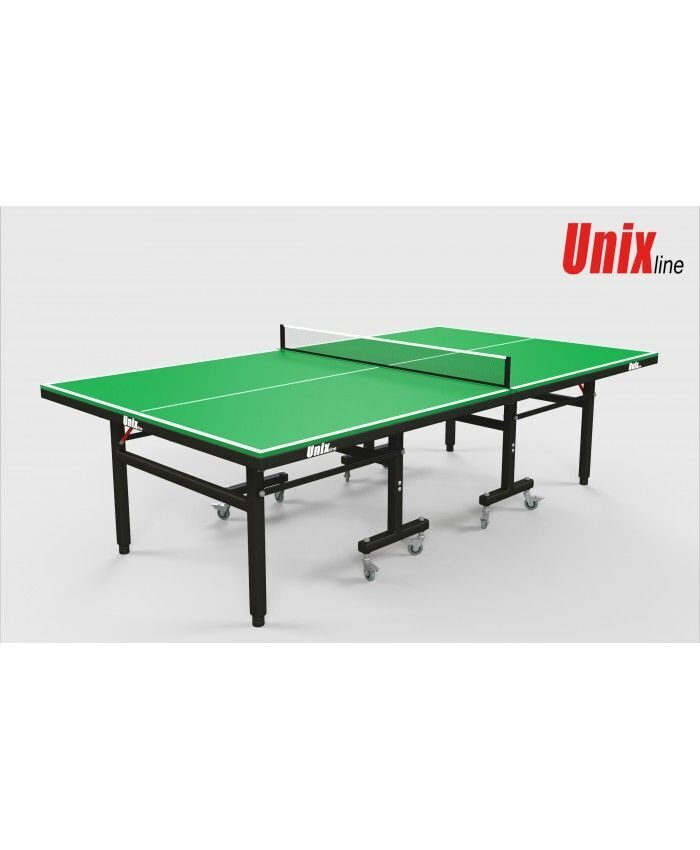 Всепогодный теннисный стол UnixLine (green)